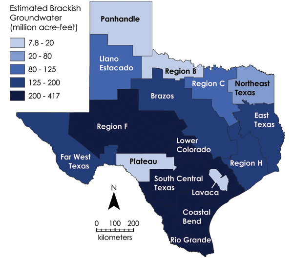 Texas Groundwater Volume
