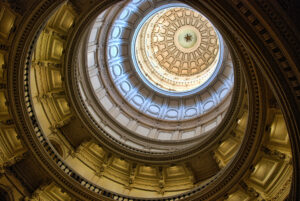 Detail of Austin Capitol, Texas, U.S.A.